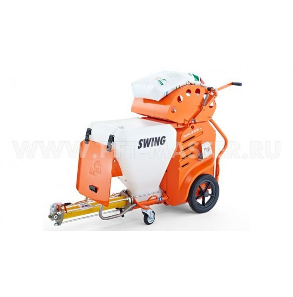 SWING L FC-230V airless, 1 Ph, 50 Hz with bag squeezer